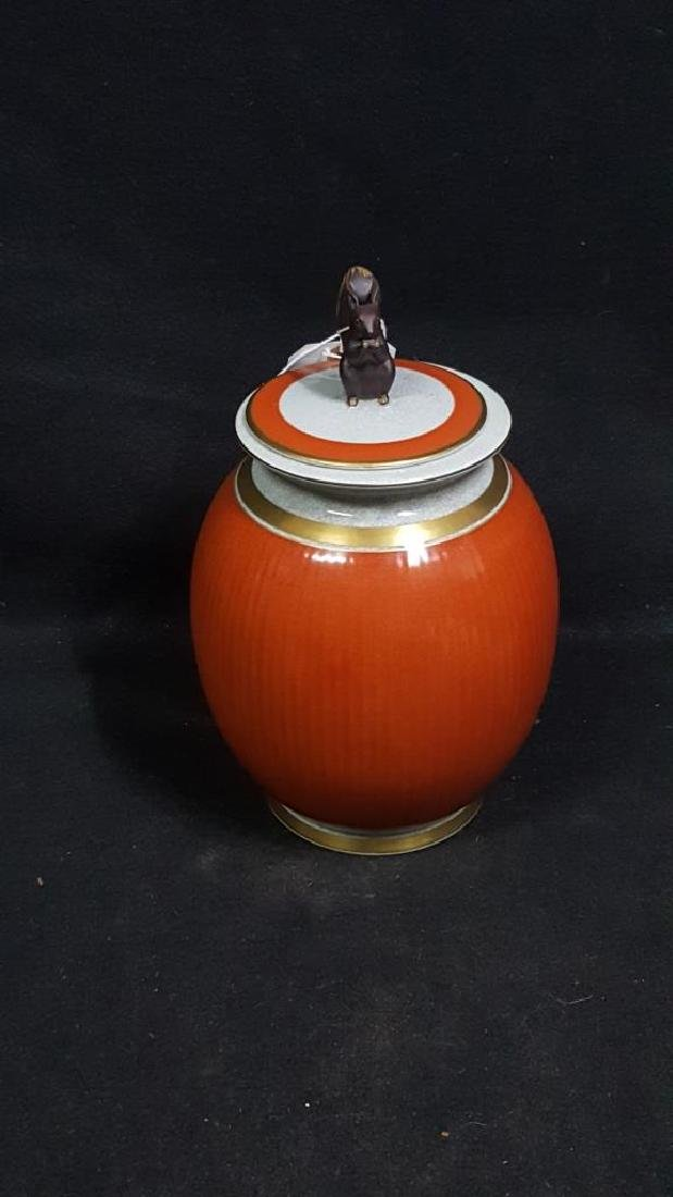 Royal Copenhagen Denmark Covered Jar