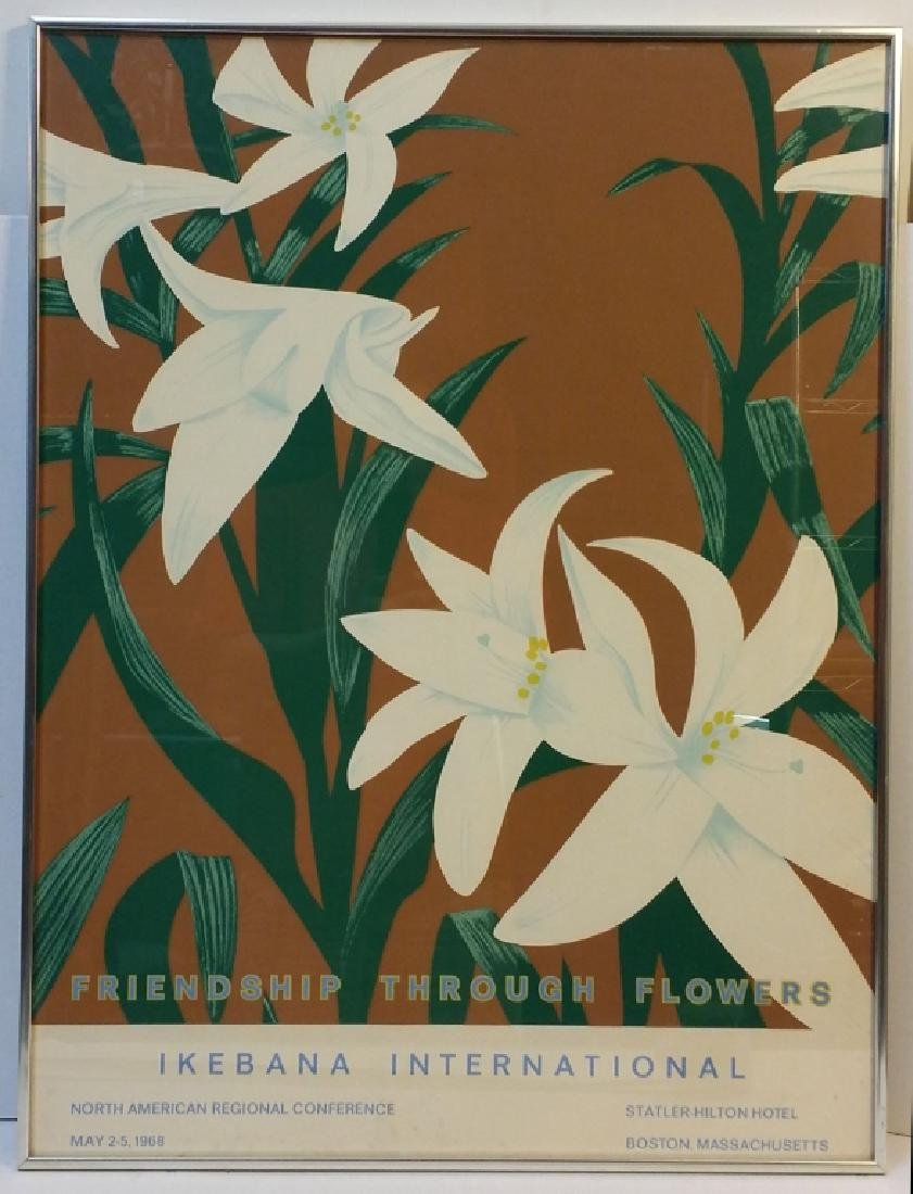 "Alex Katz ""Ikebana International"" Poster"