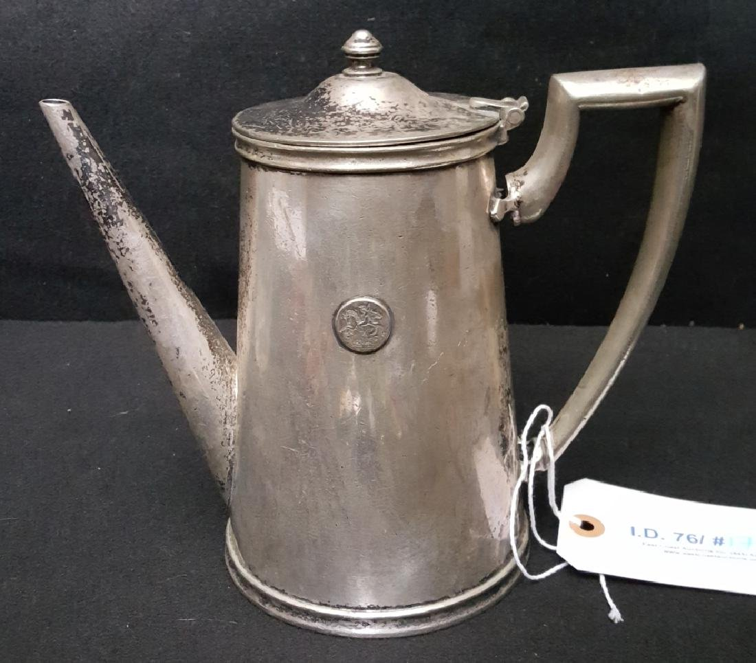 Silver Plated Hotel Ware Teapot St. George Hotel