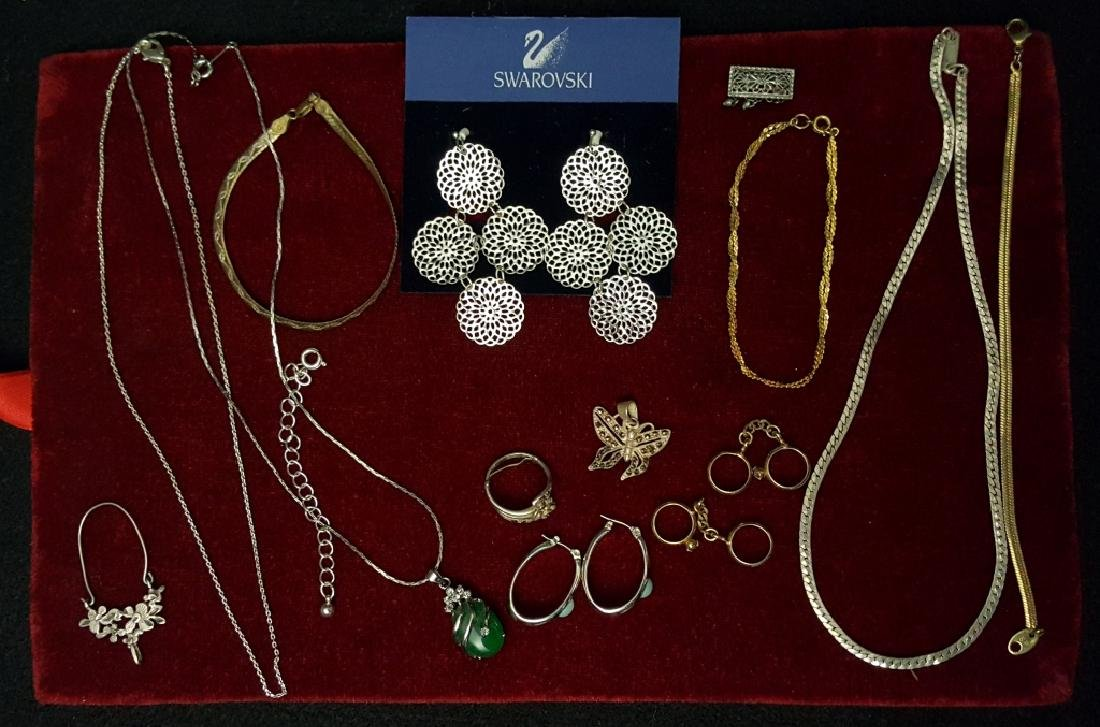Swarovski, Sterling and Other Vintage Jewelry