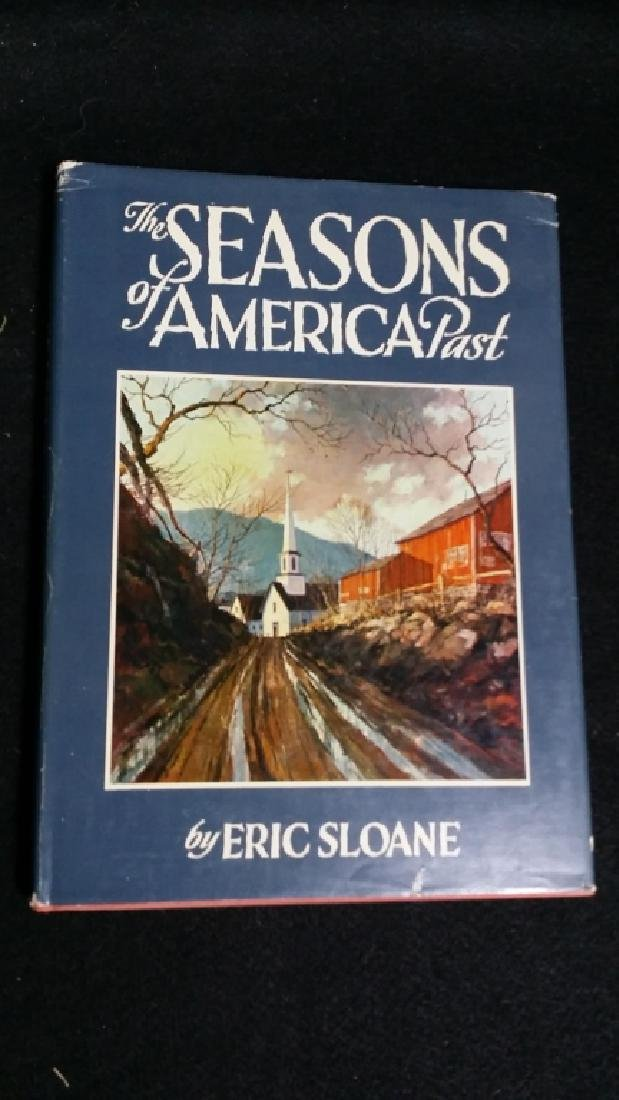 Autographed & Illustrated Hardcover by Eric Sloane