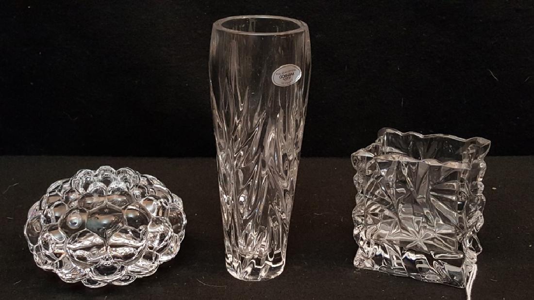 Gorham, Rosenthal and Orrefors Crystal