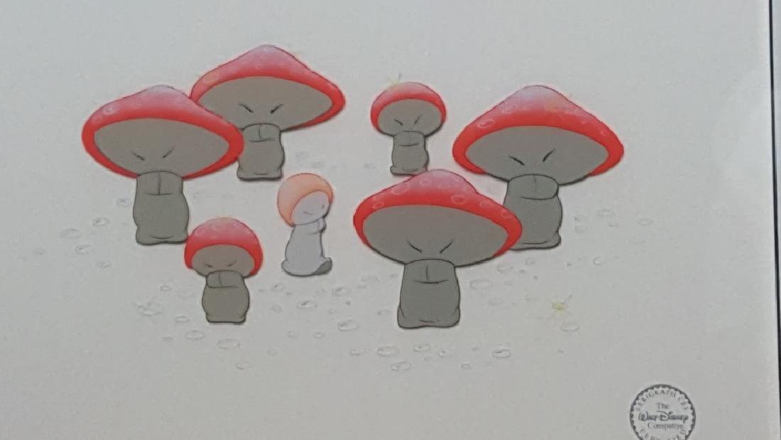 The Mushroom Dance From Disney's Fantasia Cel