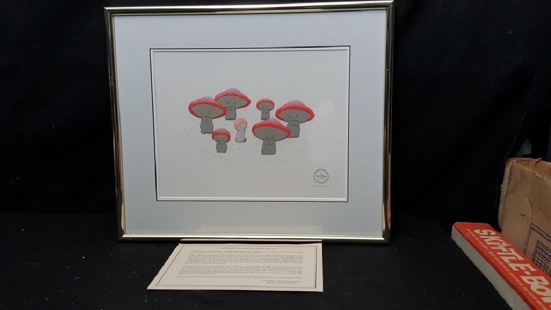 The Mushroom Dance From Disney's Fantasia Cel - 2
