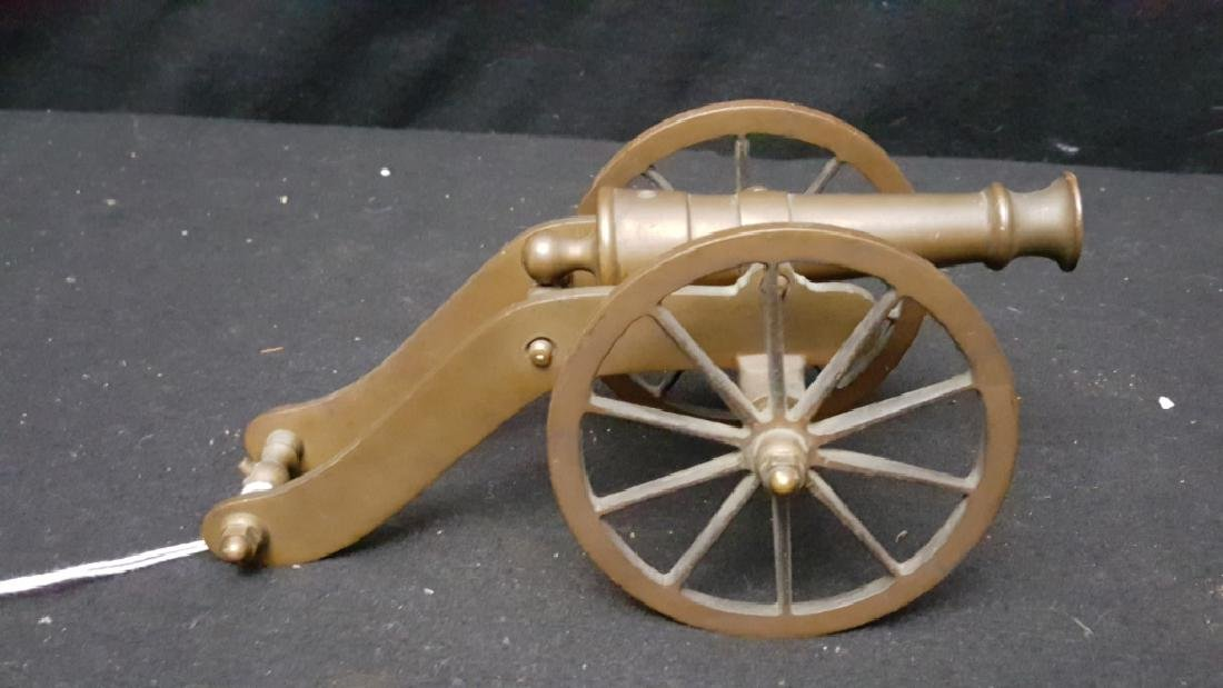 Early Bronze Toy Cannon