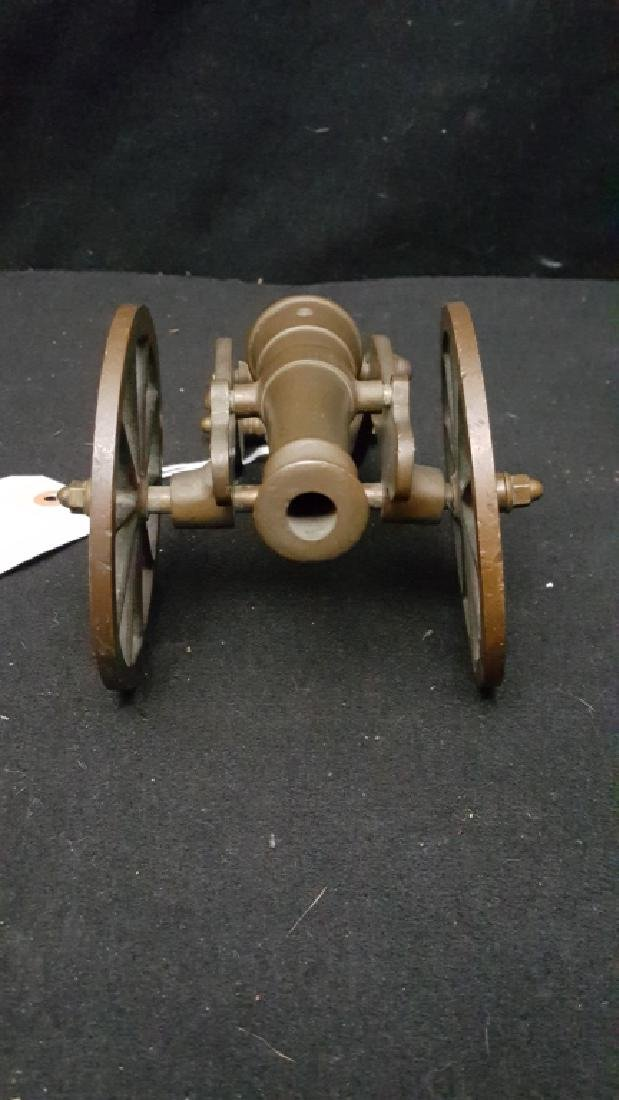 Early Bronze Toy Cannon - 2