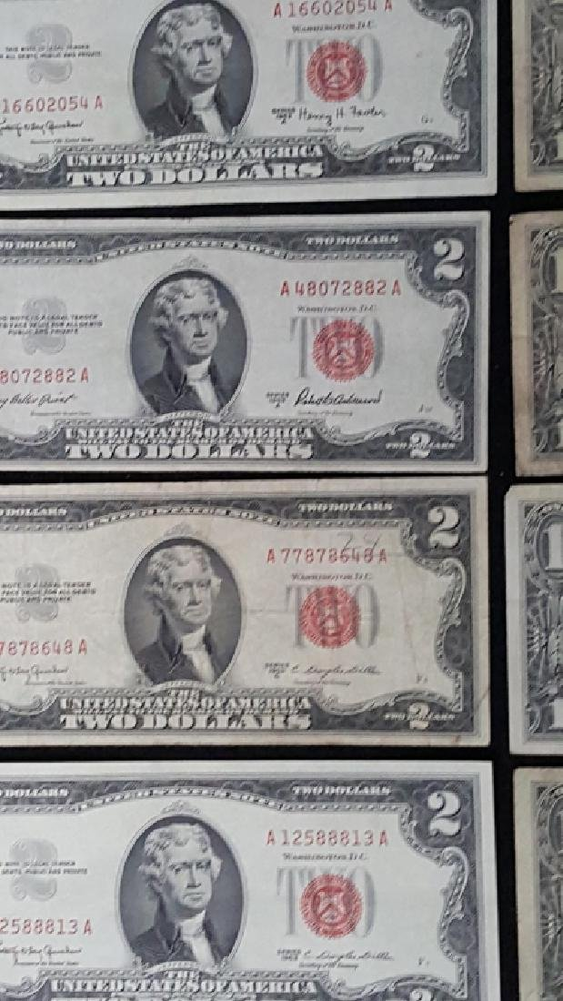 Lot of United States of America Notes + Silver Cer - 2