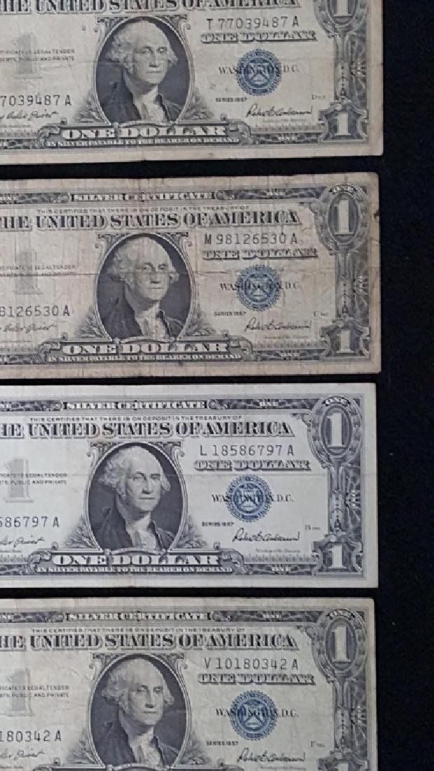 Lot of United States of America Notes + Silver Cer - 3
