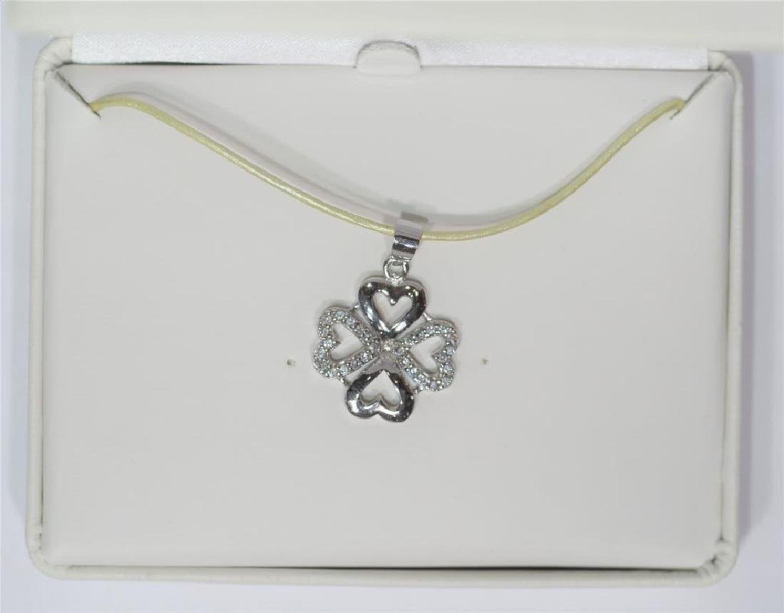S.S. Shamrock Pendant on High Fashion Wire