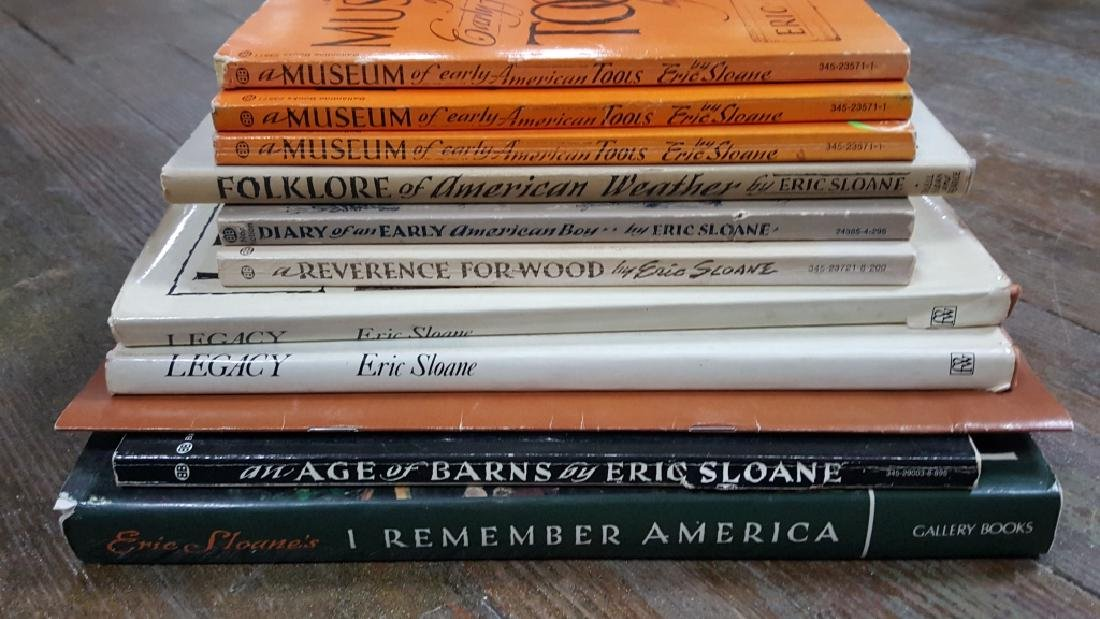 Collection of Eric Sloan books