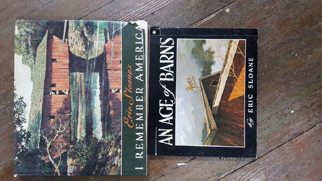 Collection of Eric Sloan books - 3