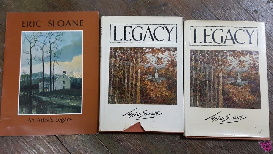 Collection of Eric Sloan books - 6