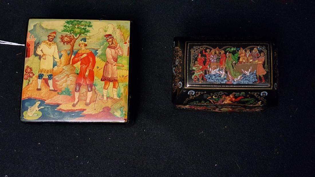 Russian Fairy Tale Trinket Boxes