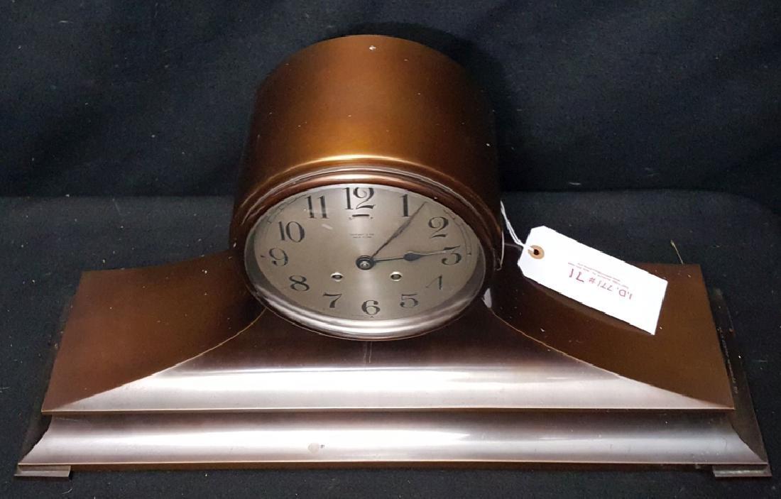 Tiffany & Co. Jockey Award Bronze Mantle Clock - 2