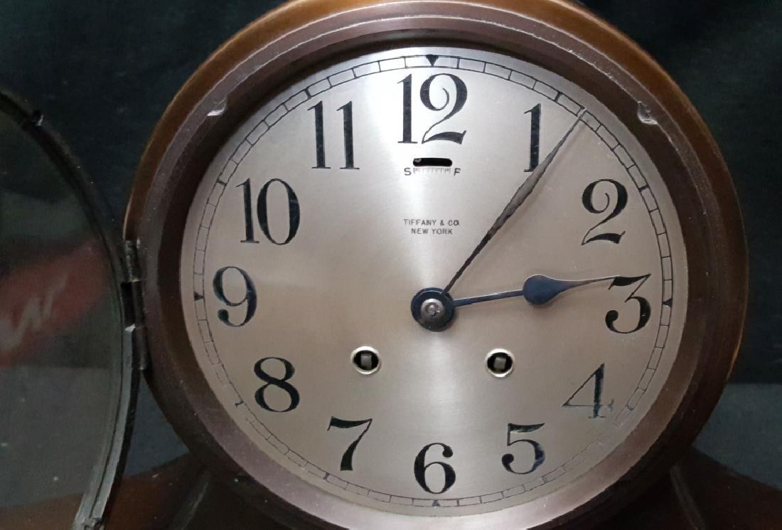 Tiffany & Co. Jockey Award Bronze Mantle Clock - 4