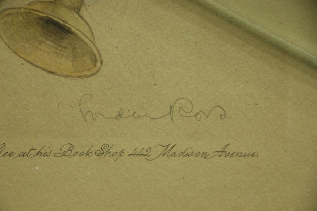 Antique English Hunting Print. - 3