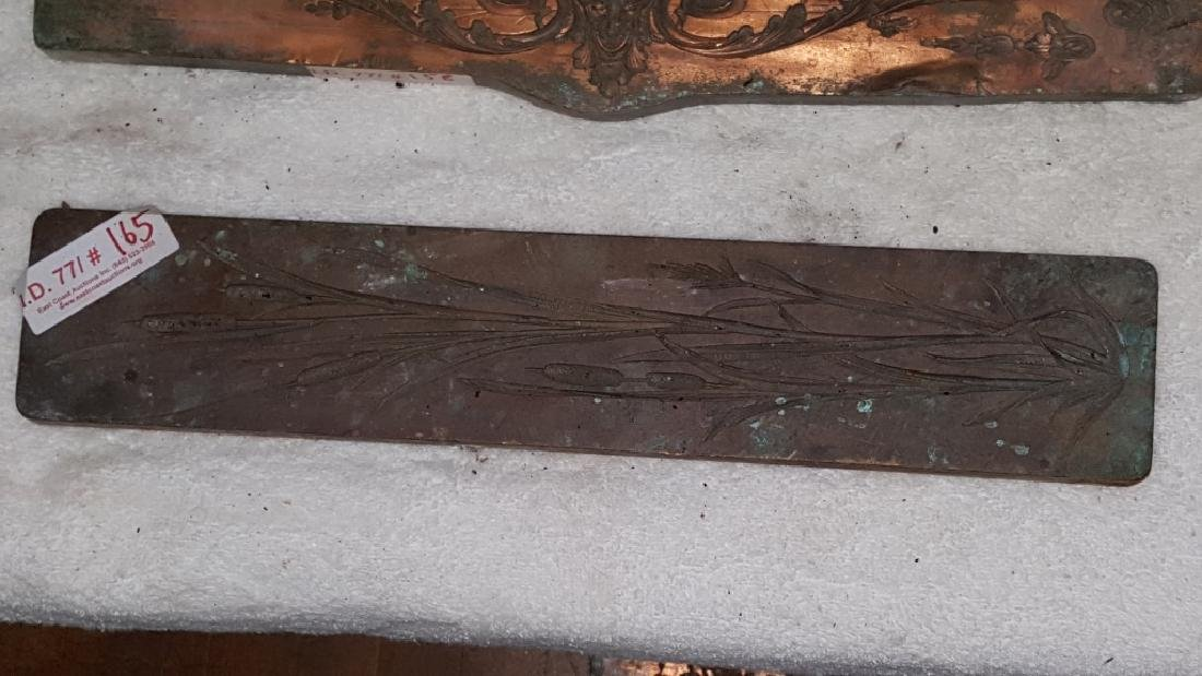 Early 19thC Copper and Lead Architectural Mold