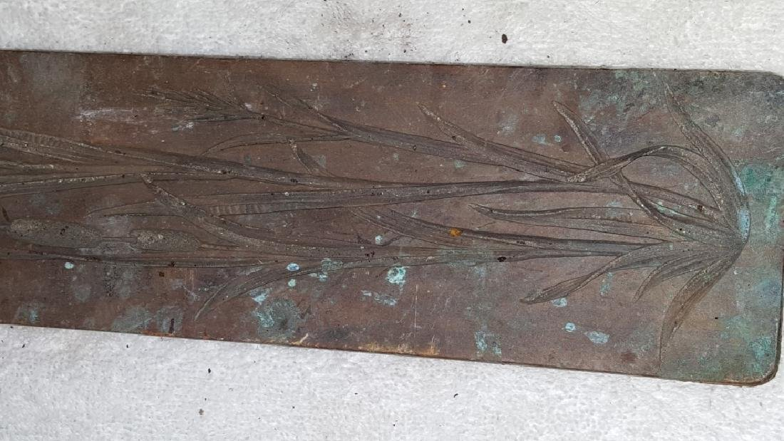 Early 19thC Copper and Lead Architectural Mold - 3