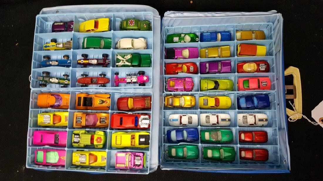 48 Corgi & Matchbox Superfast Collection w Case