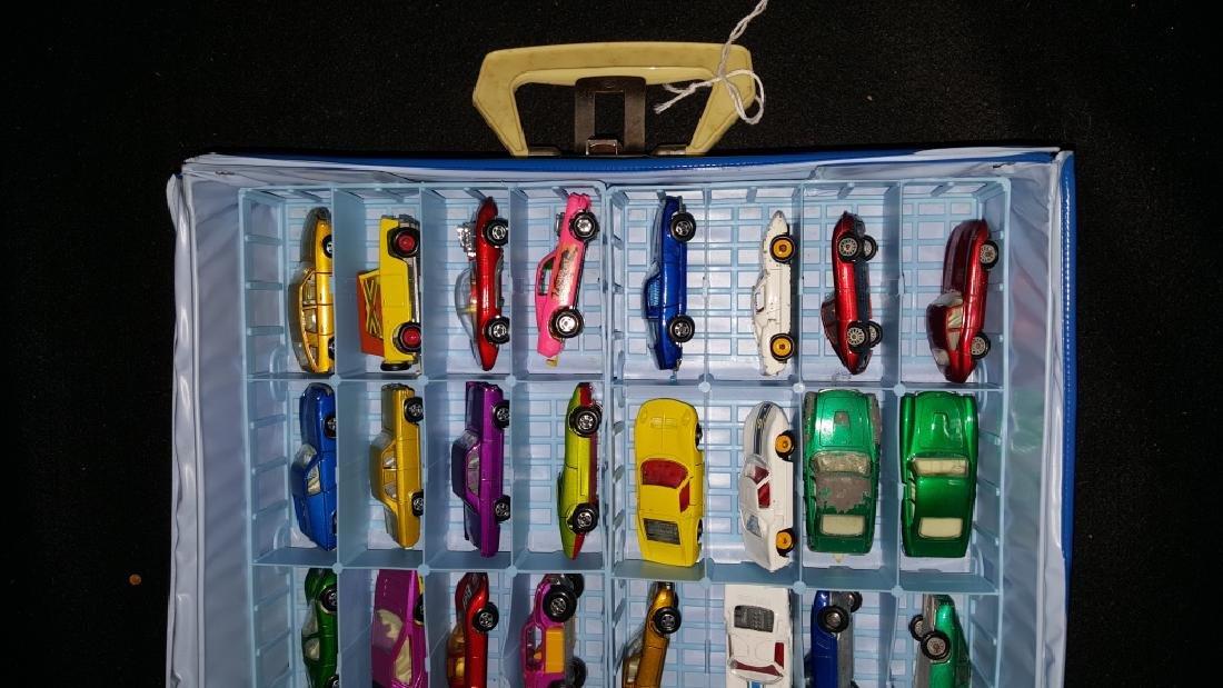 48 Corgi & Matchbox Superfast Collection w Case - 2