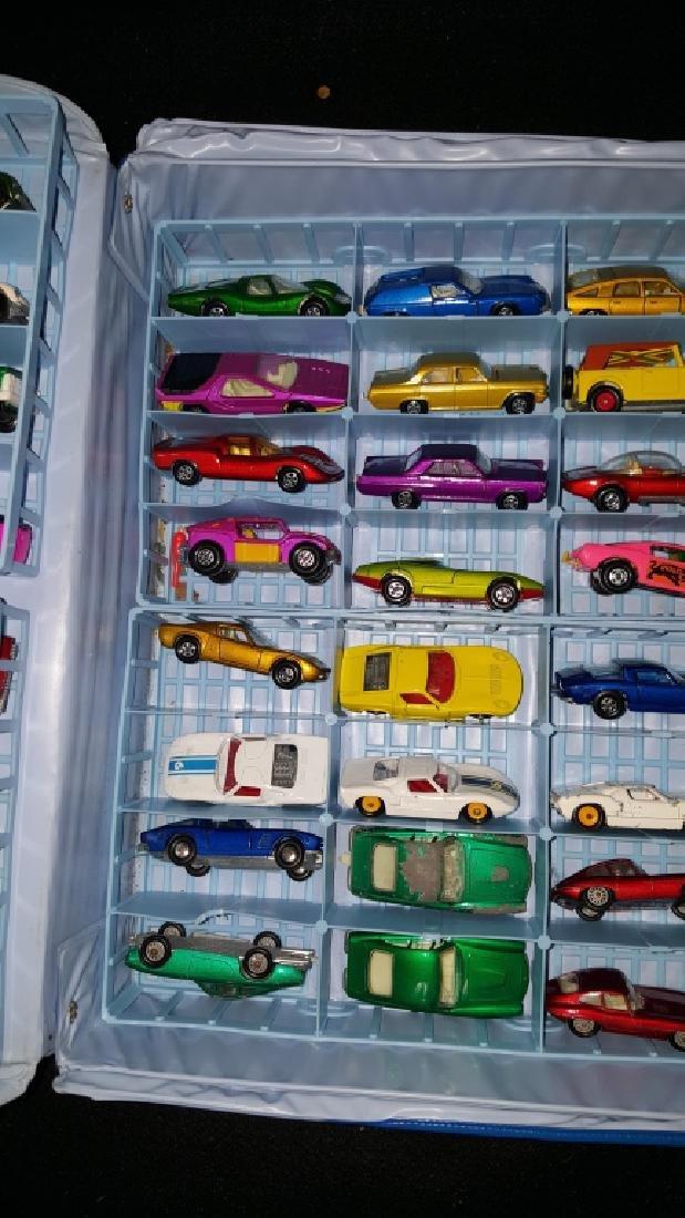 48 Corgi & Matchbox Superfast Collection w Case - 3