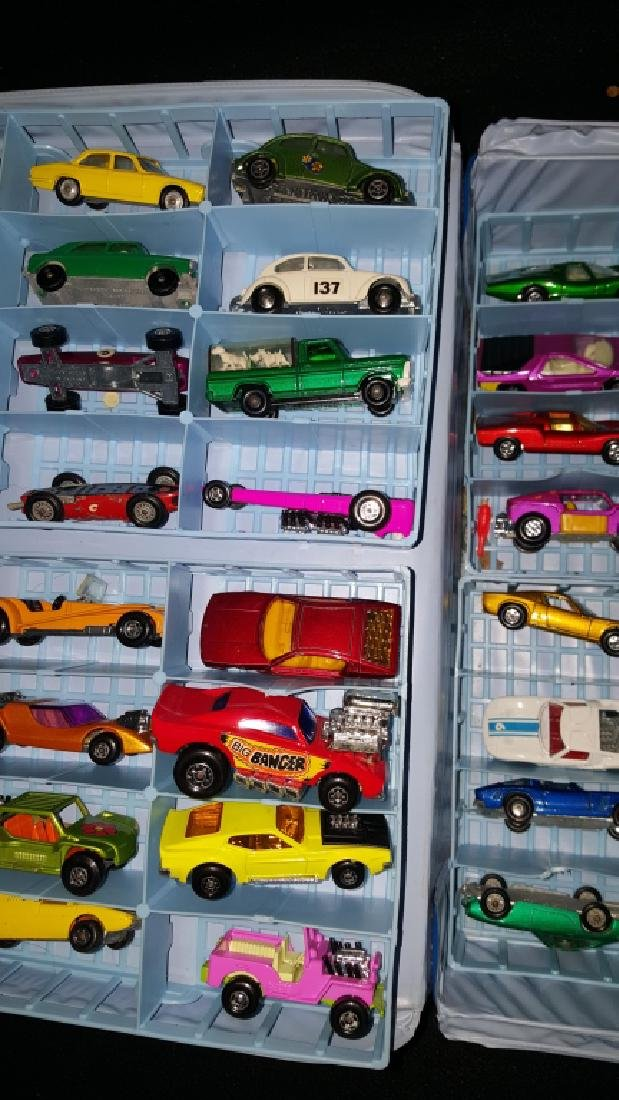 48 Corgi & Matchbox Superfast Collection w Case - 4