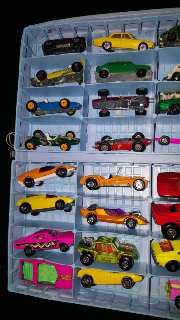 48 Corgi & Matchbox Superfast Collection w Case - 5
