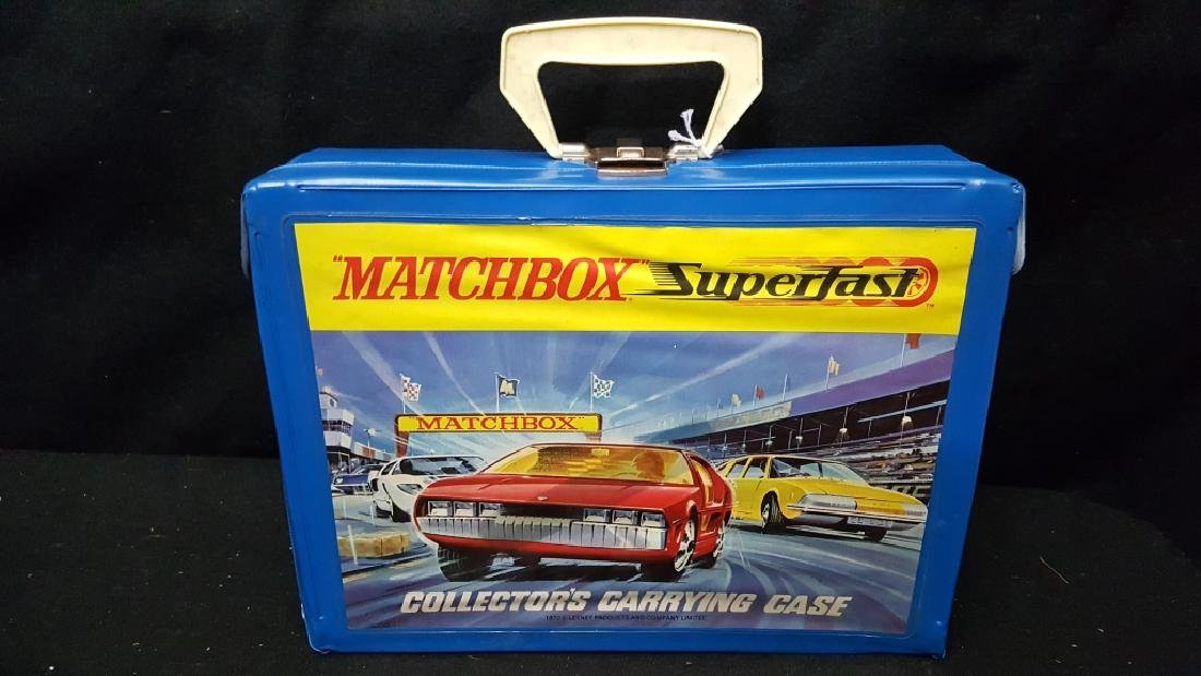 48 Corgi & Matchbox Superfast Collection w Case - 6