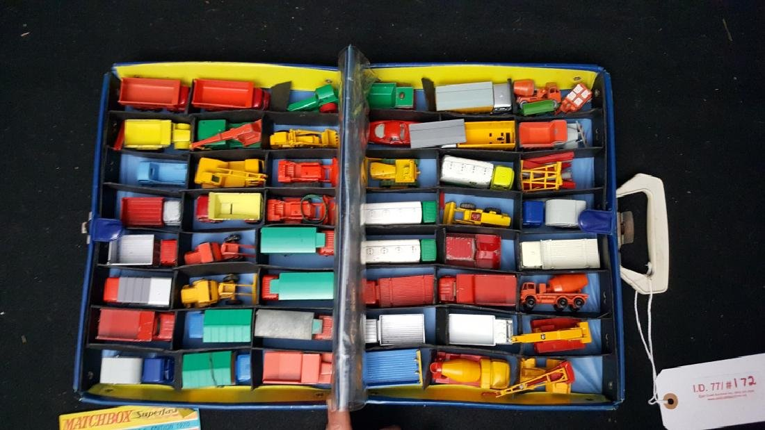 49 VINTAGE construction matchbox vehicles