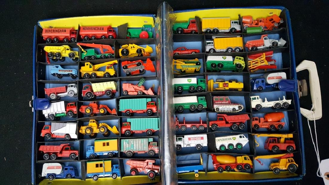 49 VINTAGE construction matchbox vehicles - 3