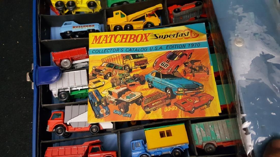 49 VINTAGE construction matchbox vehicles - 8