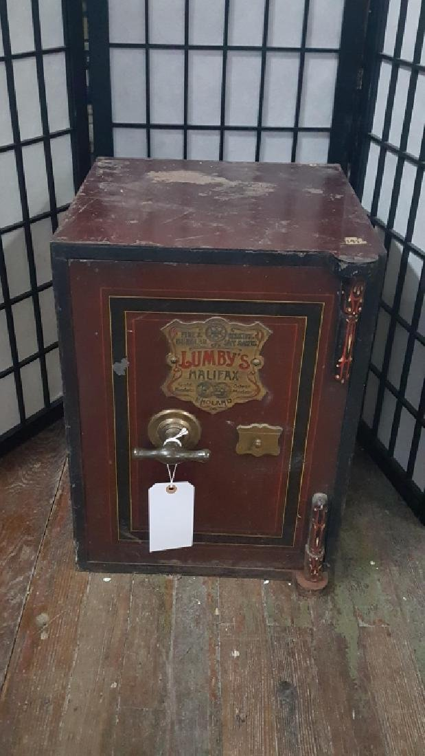 Victorian safe by Lumby of Halifax Great condition