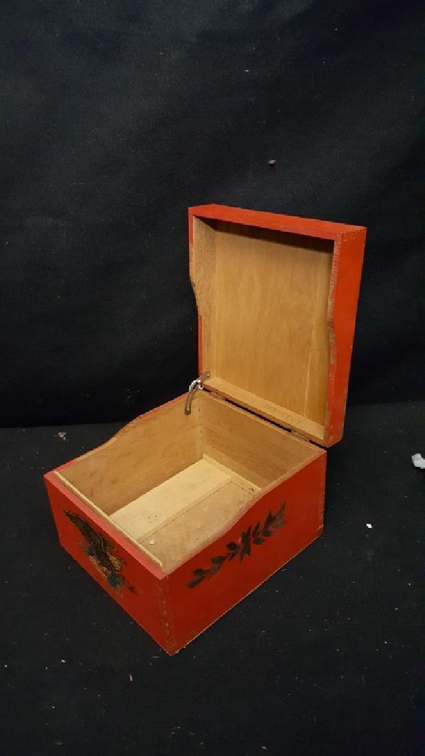 E. Pluribus Unum painted box - 2
