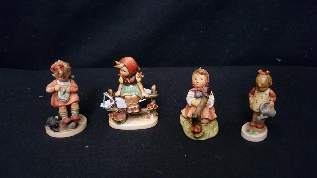 M.J. Hummel Girl Figurines