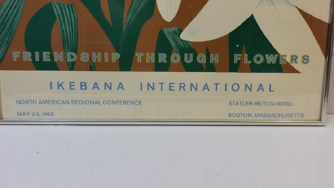 "Alex Katz ""Ikebana International"" Poster - 3"