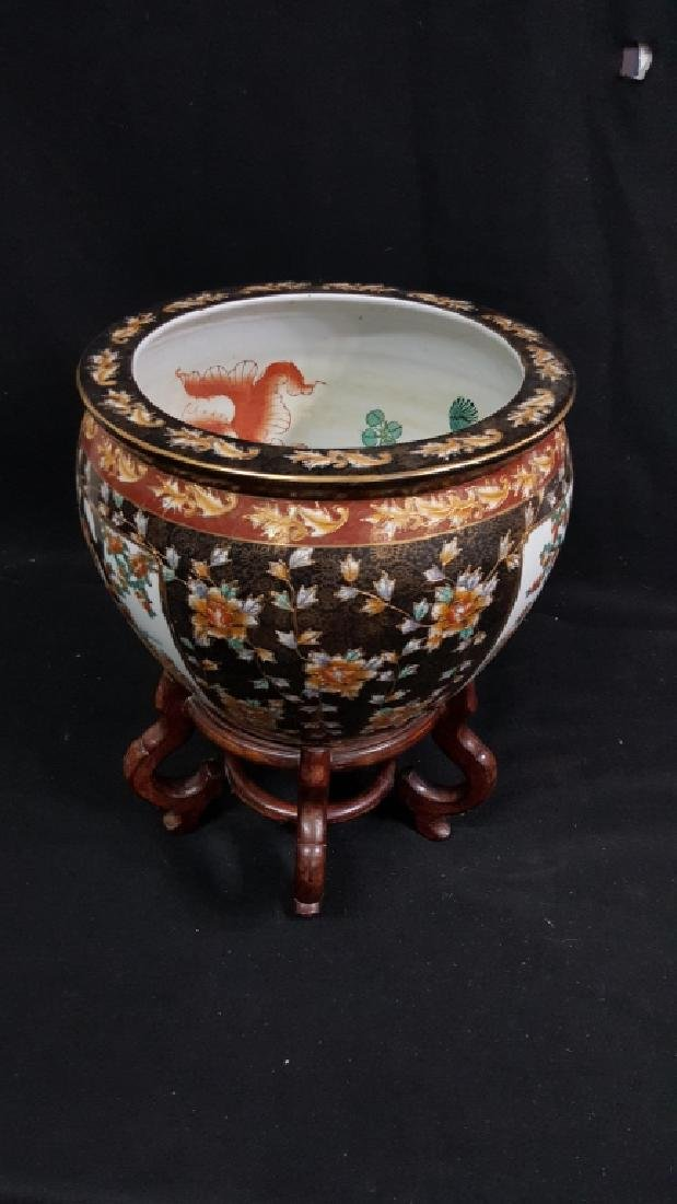 Painted Chinese Planter