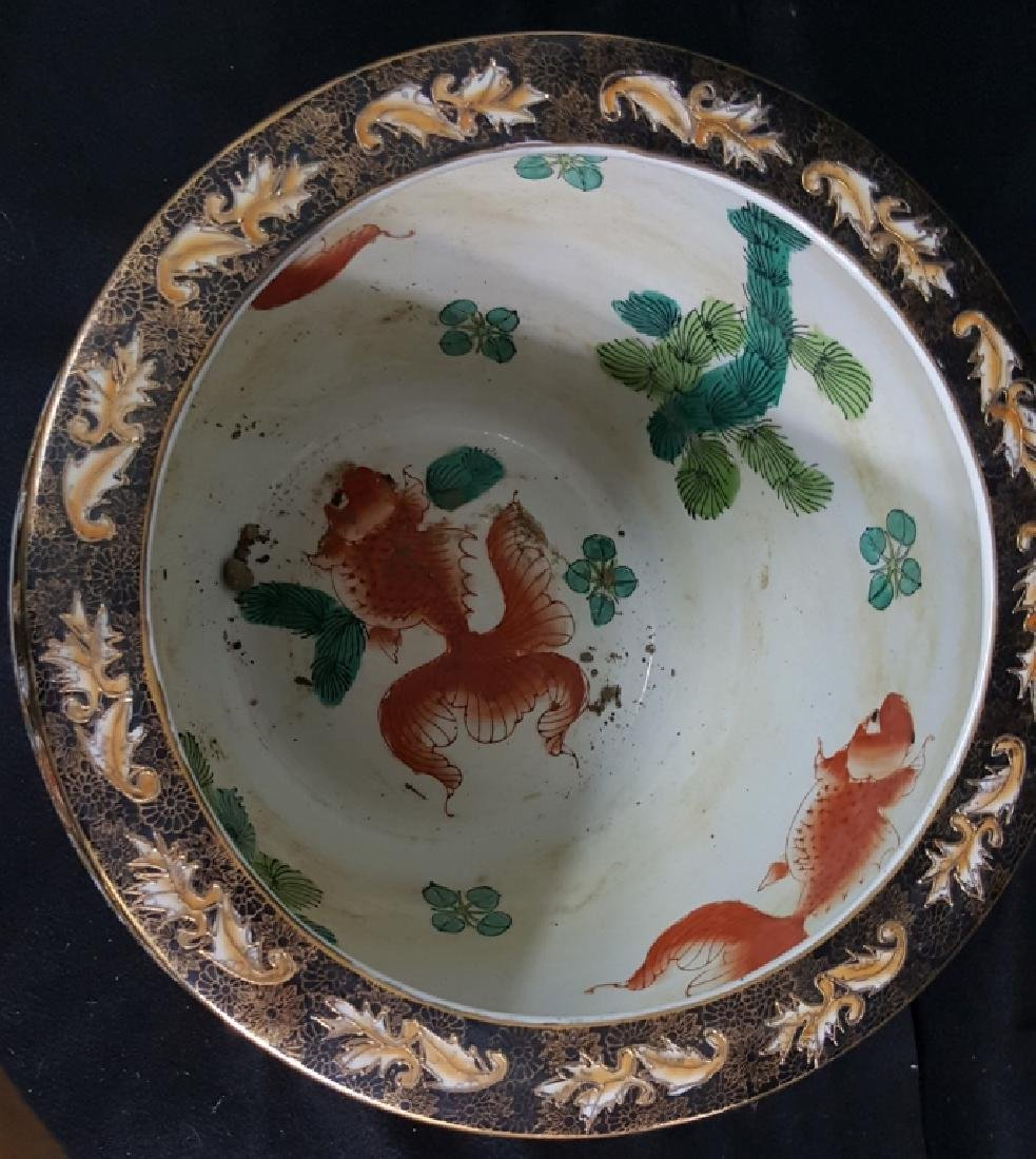 Painted Chinese Planter - 4