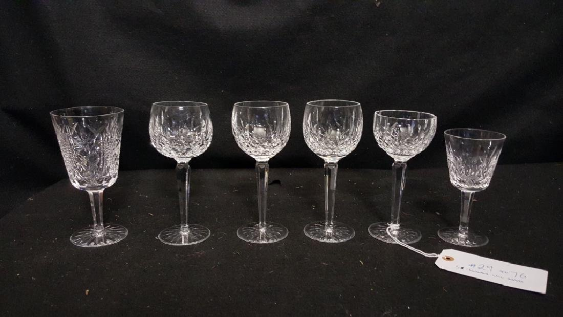 Waterford Stemware, Lismore Hocks / Wine Goblets