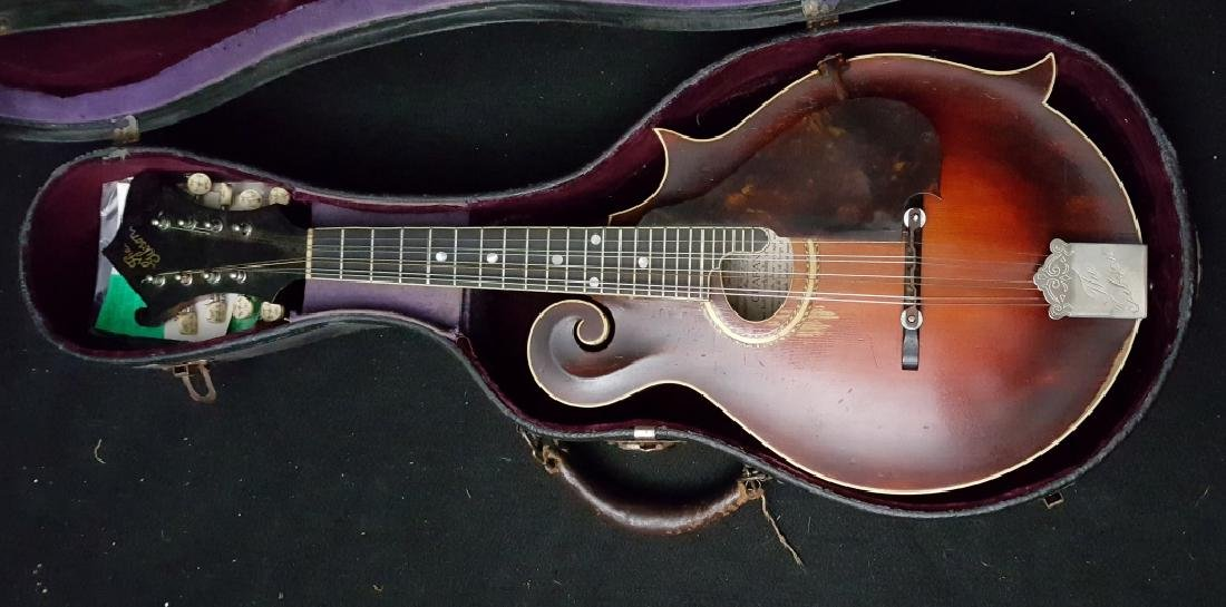 Gibson Mandolin 1916 F-2 guaranteed Gibson lable inside