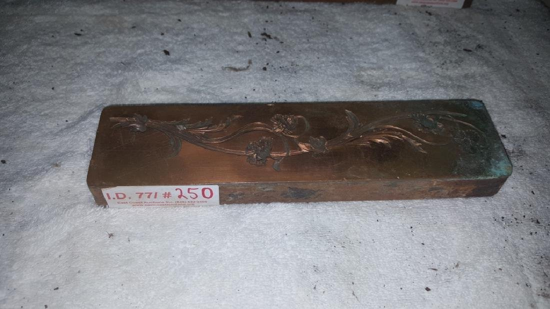 Early 19thC Copper and Lead Architectural Molds - 2