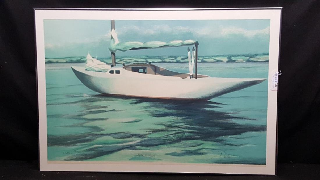 "Signed Artist Proof ""Walter's Boat"" - 2"
