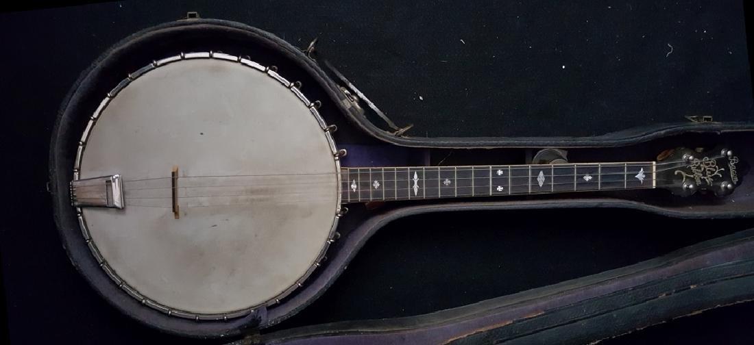 Bacon Blue Ribbon Style-A 1920's Open Back banjo