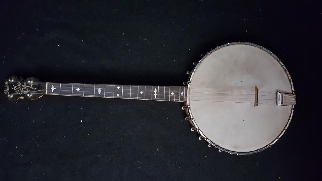 Bacon Blue Ribbon Style-A 1920's Open Back banjo - 3