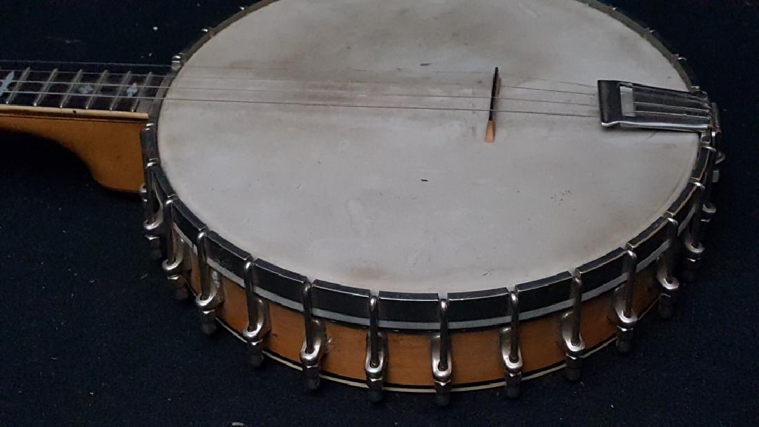 Bacon Blue Ribbon Style-A 1920's Open Back banjo - 6