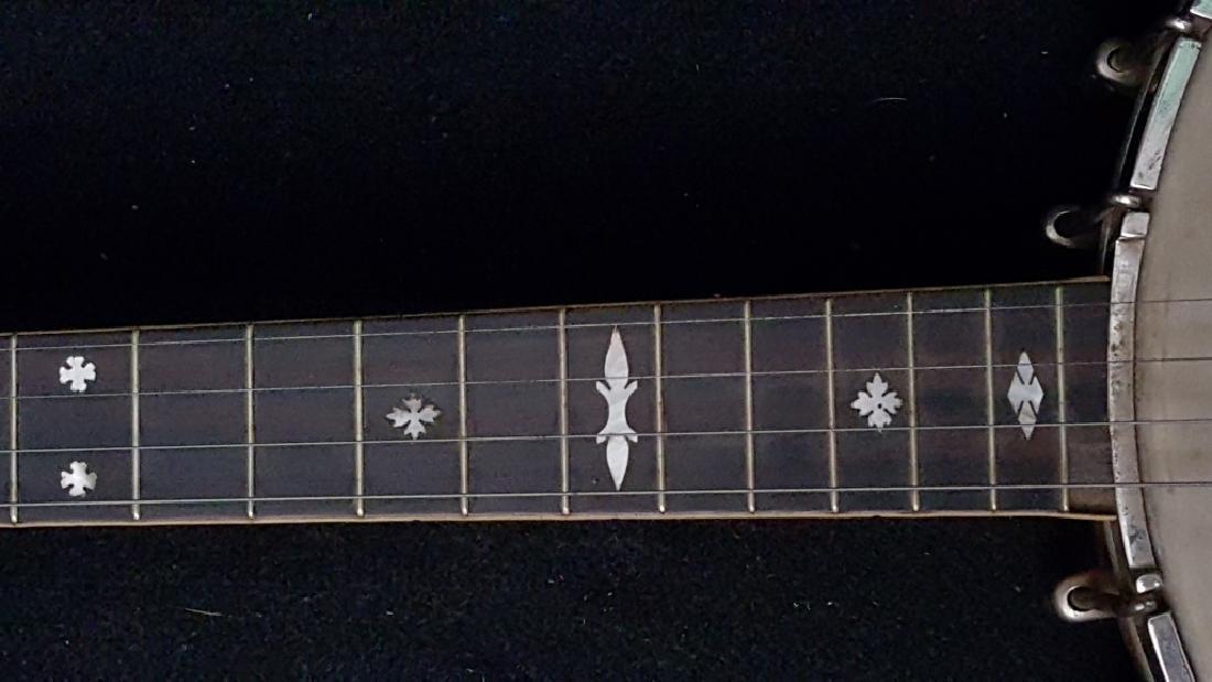 Bacon Blue Ribbon Style-A 1920's Open Back banjo - 7