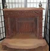 Antique Cast Iron Sove / Fireplace