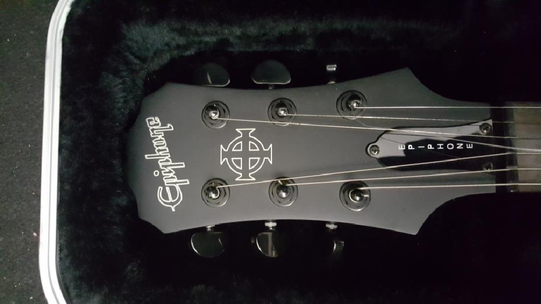 Epiphone XII Goth Les Paul Studio Electric Guitar - 2