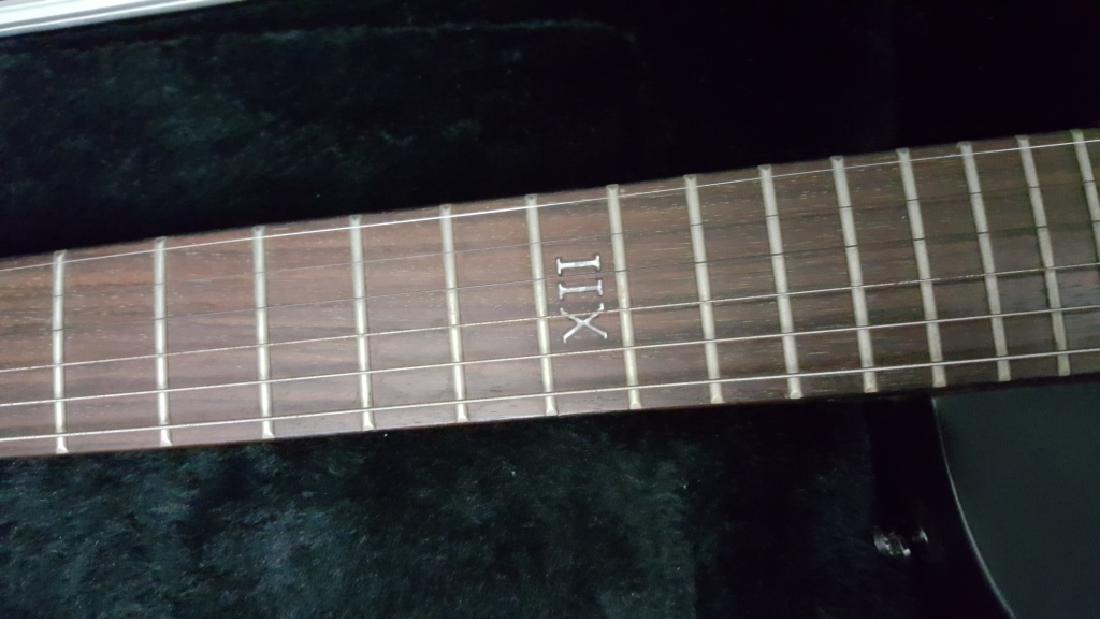 Epiphone XII Goth Les Paul Studio Electric Guitar - 4