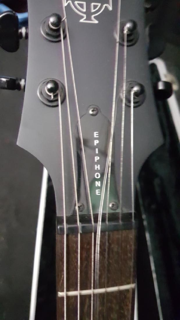 Epiphone XII Goth Les Paul Studio Electric Guitar - 5
