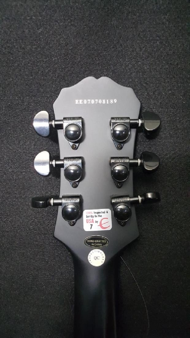 Epiphone XII Goth Les Paul Studio Electric Guitar - 7